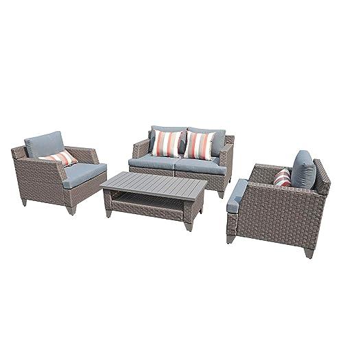 Sunsitt 5 Piece Outdoor Furniture, Outdoor Conversation Furniture