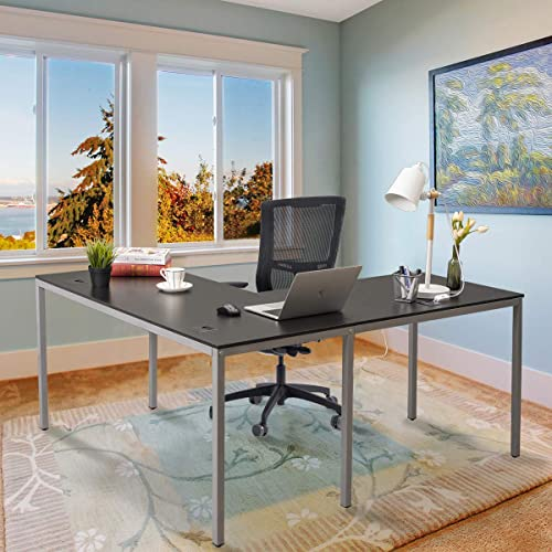 Chadior Modern L Shaped Desk, L Shaped Desk For Small Office