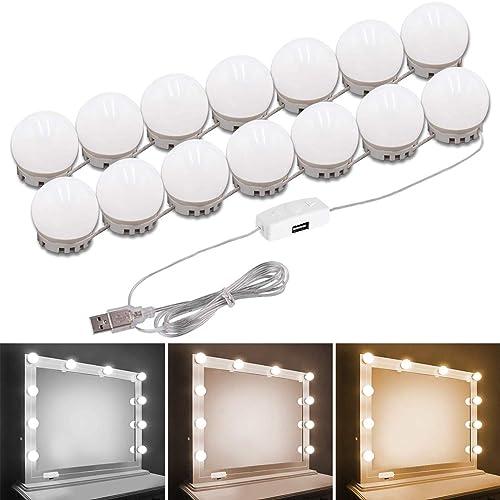 Pretmess Hollywood Style Vanity, Makeup Mirror Light Kit